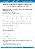 Hướng dẫn giải bài 7,8,9,10,11 trang 56 SGK Đại số 7 tập 1
