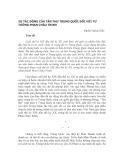 Sự tác động của Tân thư Trung Quốc đối với tư tưởng Phan Châu Trinh