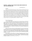 Đồ gốm - nguồn sử liệu tin cậy trong việc xác định các văn hóa tiền Đông Sơn