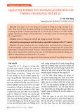 Quản trị thông tin và đào tạo chuyên gia thông tin trong thế kỷ 21