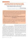 Vận dụng nguyên tắc phân loại tài liệu trong khung phân loại thập phân Dewey