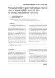Nhận diện hành vi quản trị lợi nhuận thực tế của các doanh nghiệp niêm yết trên thị trường chứng khoán Việt Nam