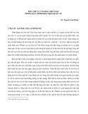 Báo chí và văn hóa Việt Nam trong quá trình hội nhập quốc tế