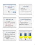 Bài giảng Tác tử - Công nghệ phần mềm dựa tác tử: Java Agent Development Framework