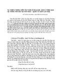 Tư tưởng trọng hiền tài thời Lê Sơ (1428-1527) thông qua hệ thống văn bia tại Văn Miếu - Quốc Tử Giám (Hà Nội)