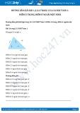 Hướng dẫn giải bài 2,3,4 trang 134 SGK Toán 1