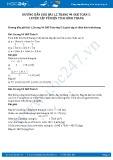 Giải bài tập luyện tập về diện tích hình thang SGK Toán 5