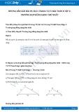 Hướng dẫn giải bài 30,31 trang 75 SGK Hình học 8 tập 2