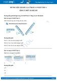 Hướng dẫn giải bài 3,4 trang 120 SGK Toán 1