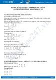 Giải bài tập ôn tập tính chất cơ bản của phân số SGK Toán 5