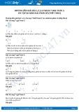 Giải bài tập ôn tập so sánh hai phân số (tiếp theo) SGK Toán 5