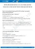 Hướng dẫn giải bài 34 trang 49 SGK Đại số 8 tập 2