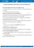 Giải bài tập bài Tôm càng và Cá con SGK Tiếng Việt 2