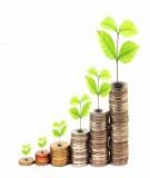 Kinh tế môi trường (Field & Olewiler) - Chương 7: Phân tích lợi ích – chi phí: lợi ích