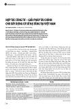 Hợp tác công tư – giải pháp tài chính cho xây dựng cơ sở hạ tầng tại Việt Nam