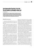 Quy định mới về quản lý tài sản tại các đơn vị sự nghiệp công lập