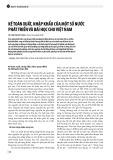 Kế toán xuất, nhập khẩu của một số nước phát triển và bài học cho Việt Nam