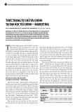 Thực trạng tự chủ tài chính tại đại học tài chính – marketing