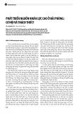 Phát triển nguồn nhân lực cao ở Hải Phòng: Cơ hội và thách thức