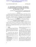 B-sitosterol, B-sitosteryl Arachidate và một este mới của cây mộc ký ngũ hùng ký sinh trên cây mít