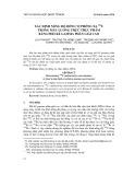 Xác định nồng độ đồng vị phóng xạ 238u trong mẫu lương thực thực phẩm bằng phổ kế gamma phân giải cao