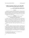Nghiên cứu đơn pha chế nút cao su chịu nhiệt và dung môi sử dụng trong phản ứng hữu cơ