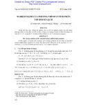Nghiệm mạnh của phương trình vi tích phân với đối số lệch