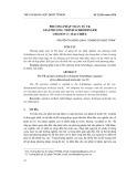 Phương pháp toán tử FK giải phương trình Schrödinger cho ion H2+ hai chiều