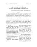 Chế tạo giao thoa kế Moiré để phân tích độ rung của bản phẳng