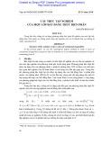 Cấu trúc tập nghiệm của một lớp bất đẳng thức biến phân