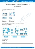 Hướng dẫn giải bài 4,5 trang 18 SGK Toán 1