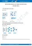 Hướng dẫn giải bài 4,5 trang 20 SGK Toán 1
