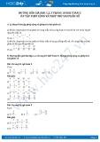 Giải bài ôn tập phép cộng và phép trừ hai phân số SGK Toán 5