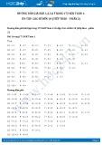 Giải bài tập Ôn tập các số đến 10 (tiếp theo – phần 2) SGK Toán 1