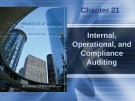 Lecture Principles of auditing and other assurance services (15/e): Chapter 21 - Whittington, Pany