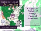 Lecture International accounting (4/e): Chapter 10 - Timothy Doupnik, Hector Perera
