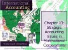 Lecture International accounting (4/e): Chapter 13 - Timothy Doupnik, Hector Perera