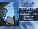 Lecture Principles of auditing and other assurance services (15/e): Chapter 1 - Whittington, Pany