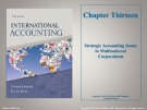 Lecture International accounting (3/e): Chapter 13 - Timothy Doupnik, Hector Perera