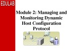 Course 2277C: Implementing, managing, and maintaining a Microsoft Windows Server 2003 network infrastructure: Network services - Module 2