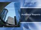 Lecture Principles of auditing and other assurance services (15/e): Chapter 17 - Whittington, Pany