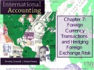Lecture International accounting (4/e): Chapter 7 - Timothy Doupnik, Hector Perera