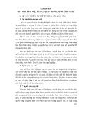 Tài liệu bồi dưỡng ngạch cán sự và tương đương - Chuyên đề 8: Quy chế làm việc của cơ quan hành chính nhà nước