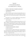 Tài liệu bồi dưỡng Lãnh đạo, quản lý cấp huyện - Chuyên đề 6