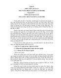 Tài liệu bồ dưỡng ngạnh chuyên viên và tương đương - Chuyên đề 9: Tổng quan quản lý nhà nước theo ngành và lãnh thổ