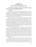Tài liệu bồi dưỡng ngạch cán sự và tương đương - Chuyên đề 17: Ứng dụng tin học trong quản lý hành chính nhà nước
