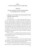 Tài liệu bồi dưỡng Lãnh đạo, quản lý cấp huyện - Chuyên đề 3