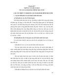 Tài liệu bồi dưỡng ngạch cán sự và tương đương - Chuyên đề 7: Những vấn đề cơ bản về cải cách hành chính nhà nước