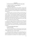 Tài liệu bồi dưỡng ngạch cán sự và tương đương - Chuyên đề 6: Văn hóa công sở, lễ tân và nghi thức nhà nước