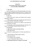 Tài liệu bồi dưỡng ngạch chuyên viên cao cấp - Chuyên đề 12: Thách thức trong quản lý nhà nước về tài nguyên và môi trường